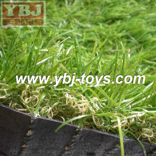 Durable decorative indoor soccer artificial turf for tennis court