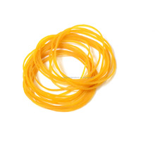 Wholesale Price 60mm Transparent Durable Rubber Band, Elastic Natural Latex Rubber Band