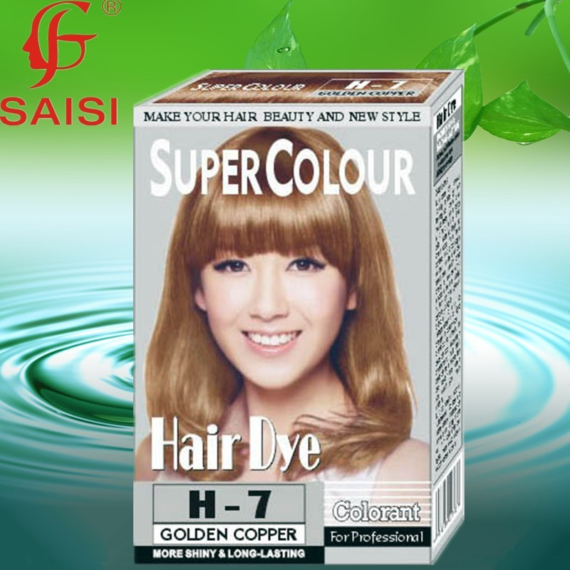 HOT hair color, hair dye ,copper brown hair color