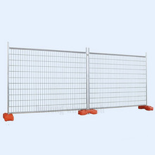 2.1X2.4 M 42 Microns Galvanized Temporary Yard Fence Welded Mesh Fencing
