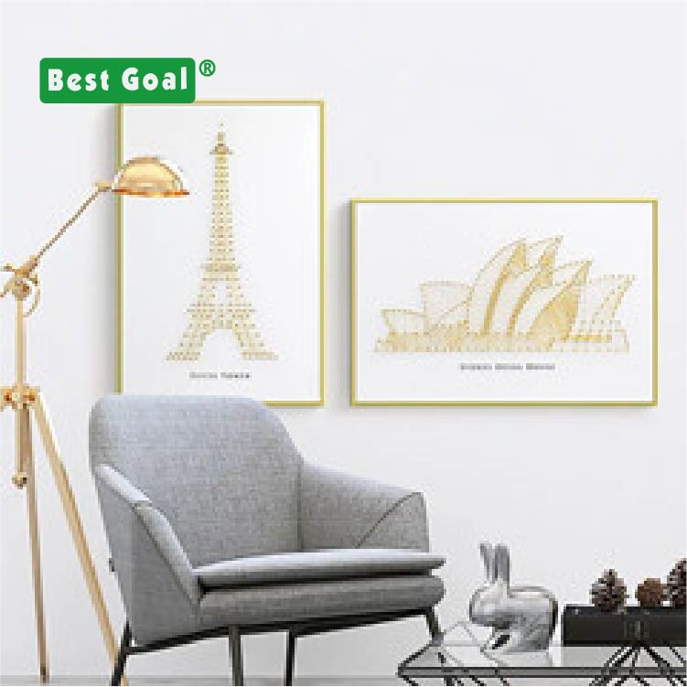 Home decoration DIY wooden string arts and <strong>crafts</strong> with wood frame