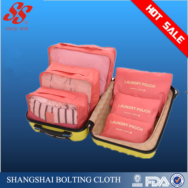 Shanghai Shangshai factory 6 Sets Travel Business Organizers Compression Pouches travel Storage Bag