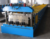 steel structure metal deck roll forming machine steel floor decking cold roll former machinery