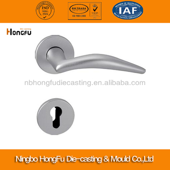 Custom die casting aluminum sliding door handle and lock