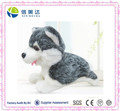 Electric Husky dog plush toys