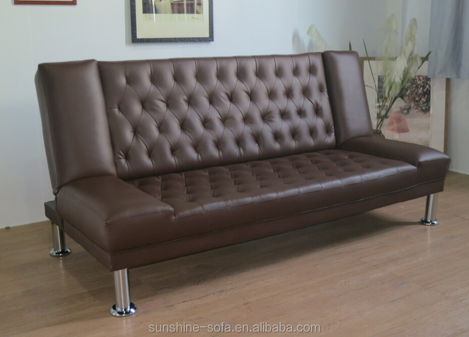 Fashion Leather Folding Sofa Bed & Office Furniture