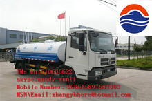 dongfeng tianjing stainless steel water tank truck Off-road Water Truck