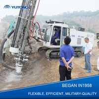 YUTONG Max 30 m Military Quality Rock Drill Machine