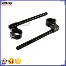 BJ-COHB-043B CNC Aluminum Sportbike 43mm Riser Handle Bar Clip On for Suzuki GSXR750 1100