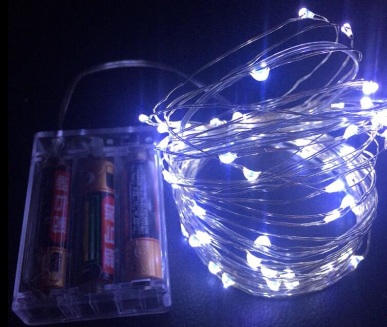 LED String Lights for Xmas Garland Party Wedding Decoration Christmas Flasher Fairy Lights