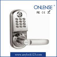flat combination lock digital door lock