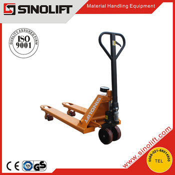 Hot - DF Scale Hydraulic Pallet Truck with CE