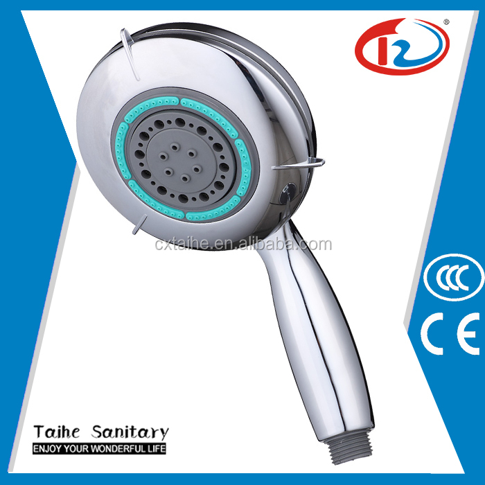 2016 Hot sale bathroom product 5 function hand shower portable hand shower