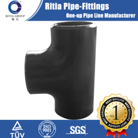seamless carbon steel fitting pipe tee dimensions