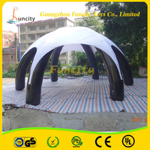 Durable hot sale inflatable advertising tent , spider tent for activities
