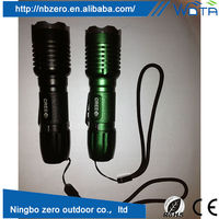 Promotional gift and colorful design zoom lens flashlight