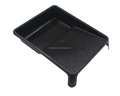 Heavy duty plastic paint tray