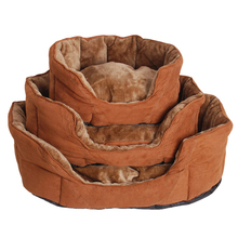 High Quality Luxury Dog Sofa Bed Warm Pet Kennel Puppy Plush Mat