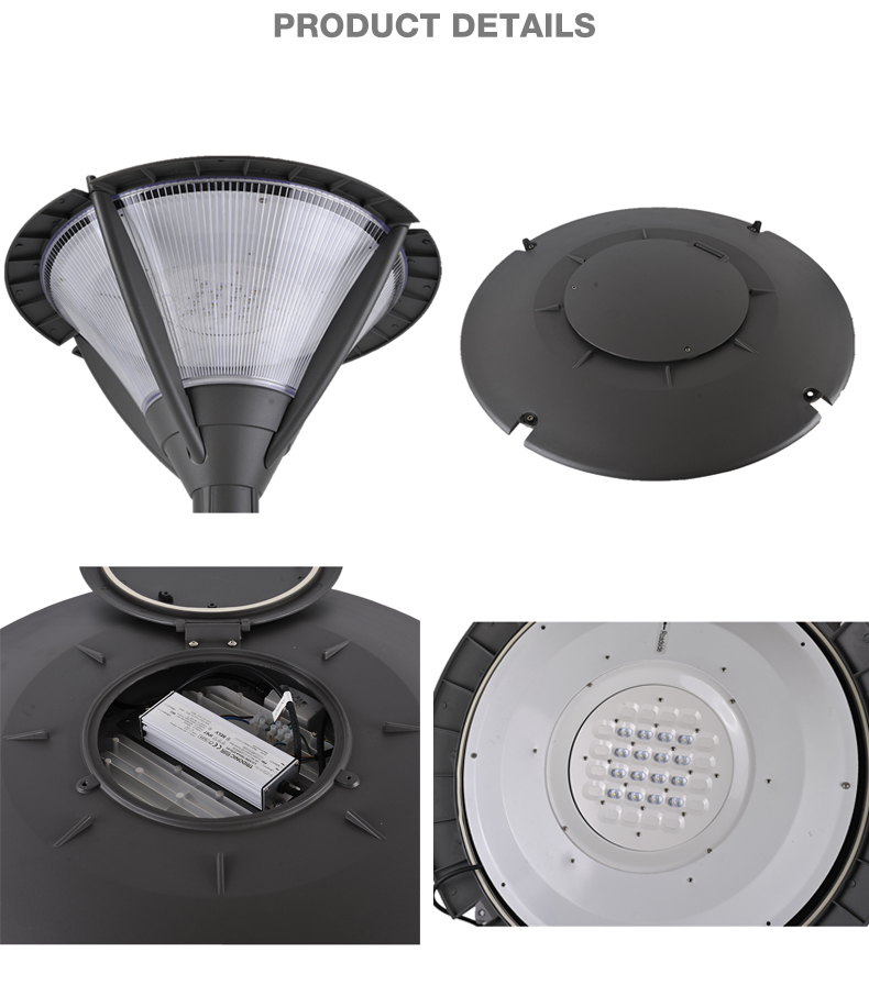 Low price 60W IP65 outdoor landscape led garden street light