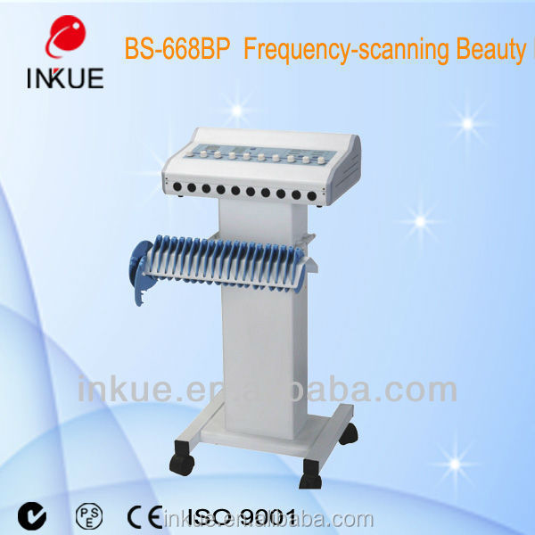 Micro-current Electro muscle stimulation slimming machine , Muscle stimulator medical physiotherapy apparatus bs-668