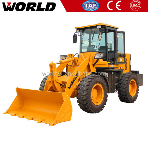 Price of High efficiency ZL20 2 ton mini wheel loader for sale