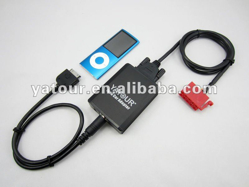 car adapter for ipod/iphone for mercedes