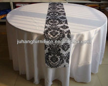 Round Embroidery Table Cloth
