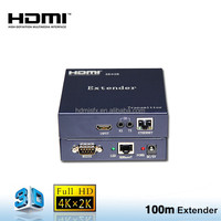 hdmi extender hd base t with transmitter-receiver extend to 100m