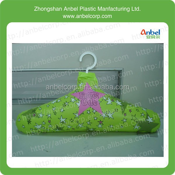Household Essentials Green PVC Inflatable Coat Hanger
