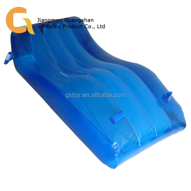 Custom lounge chair transparent inflatable reclining sofa