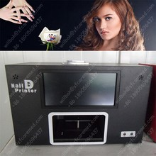 Factory price Flower Digital nails printer printing machine with computer