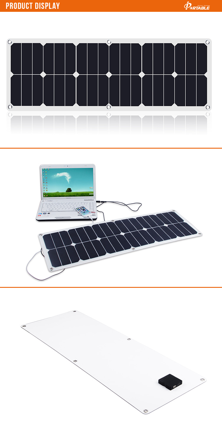 sunpower flexible solar panel 40W with fast delivery
