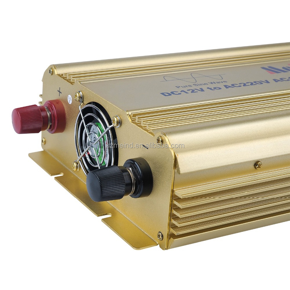 Low price 2000W DC12V TO AC220V 50HZ Pure sine wave inverter for solar off grid system,household,travelling,campingetc