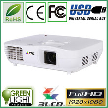 Dvb-t projector made in china 1080p FULL HD 1920*1080 video home high resolution education projector resolution 1920x1080 led