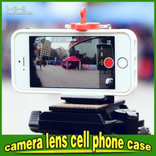 New product three camera lens cell phone case for iphone 6 plus