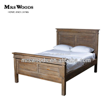 recycled elm wooden bed, latest double bed designs, solid wood bed