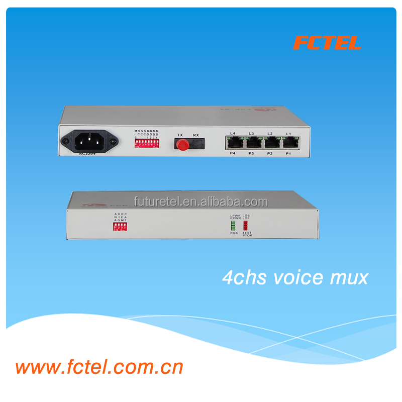 Superior Quality Desktop 4 Channels Voice Receiver