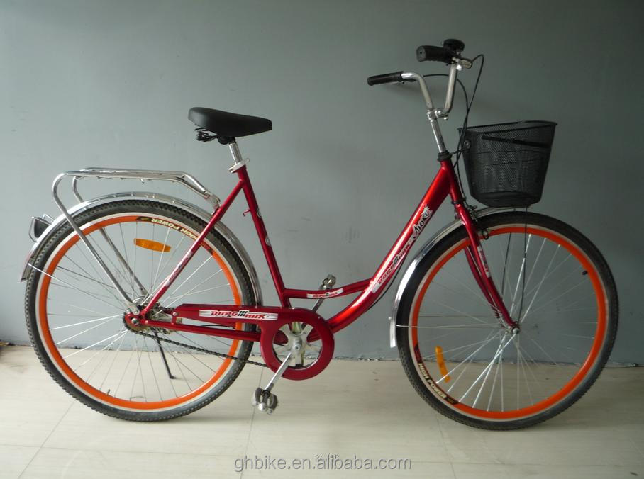 28 inch city bike bicycle cheap utility bicycle whole sale old style OMA bike for woman