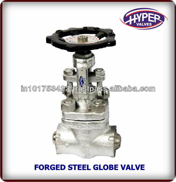 Forged Steel High Pressure Needle Type Globe Valve