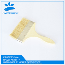 2016 Fashion Industrial Thin Paint Brush With Wooden Handle Mini Bristle Painting Brush