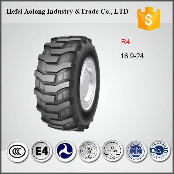 Wholesale Solid Industrial Tire, 16.9-24 Farm Tractor Tires For sale