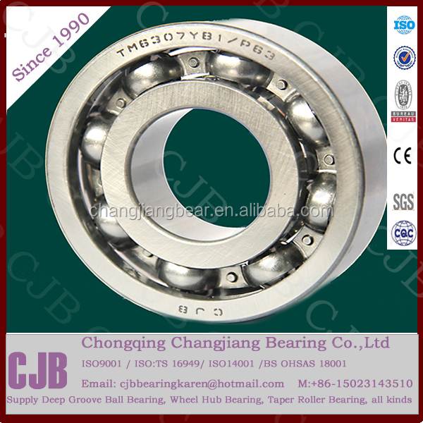 High speed low Friction Chrome Steel 6311 Deep Groove Ball Bearing