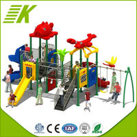 Complex Slides/Plastic Tree House/Kids Play Center Outdoor Playground