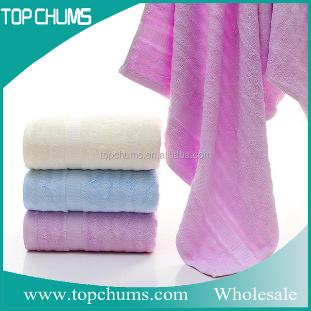 Promotion Stock cheap promotion bathroom set bamboo bath towel