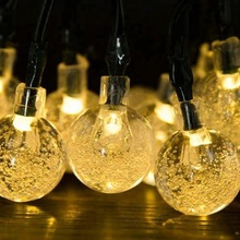 30LED Solar Powered Outdoor Garden Christmas LED Fairy String lights