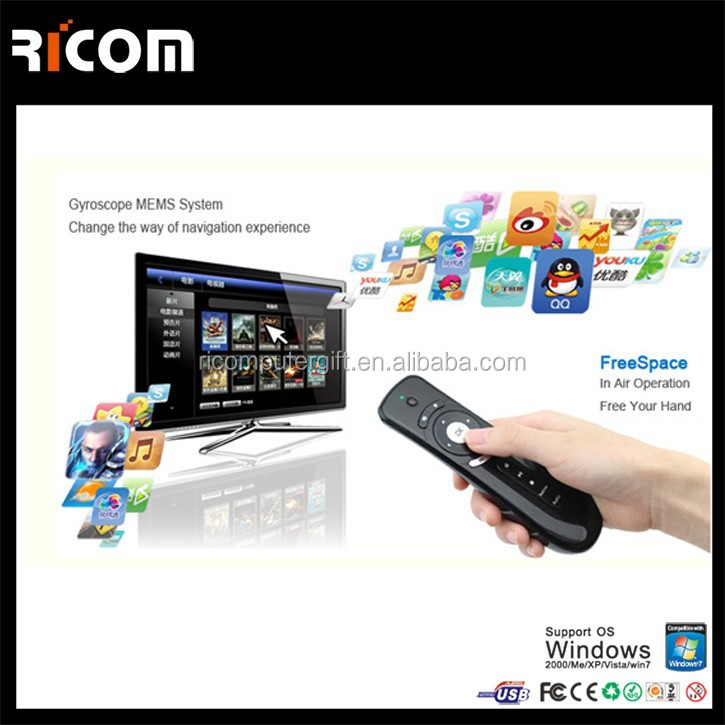 T1 air mouse android,universal remote control with air mouse--T1-Shenzhen Ricom