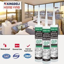 GP building indoor glass using silicone sealant adhesive glues