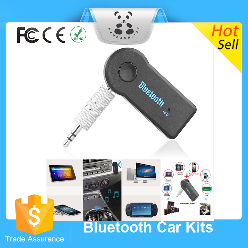 Wireless Bluetooth Car Kit Handsfree 3.5mm Streaming A2DP Car AUX Audio Music Receiver Adapter