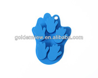 mini hand palm shaped silicone chocolate candy toffee milk jelly cake mold mould ice juice freezer tray freezing pan