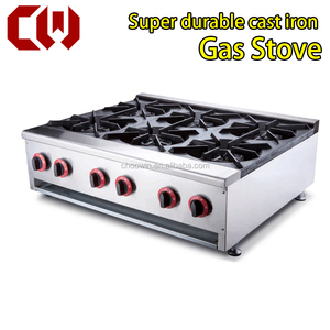 commercial counter top gas stove gas range gas cooking top